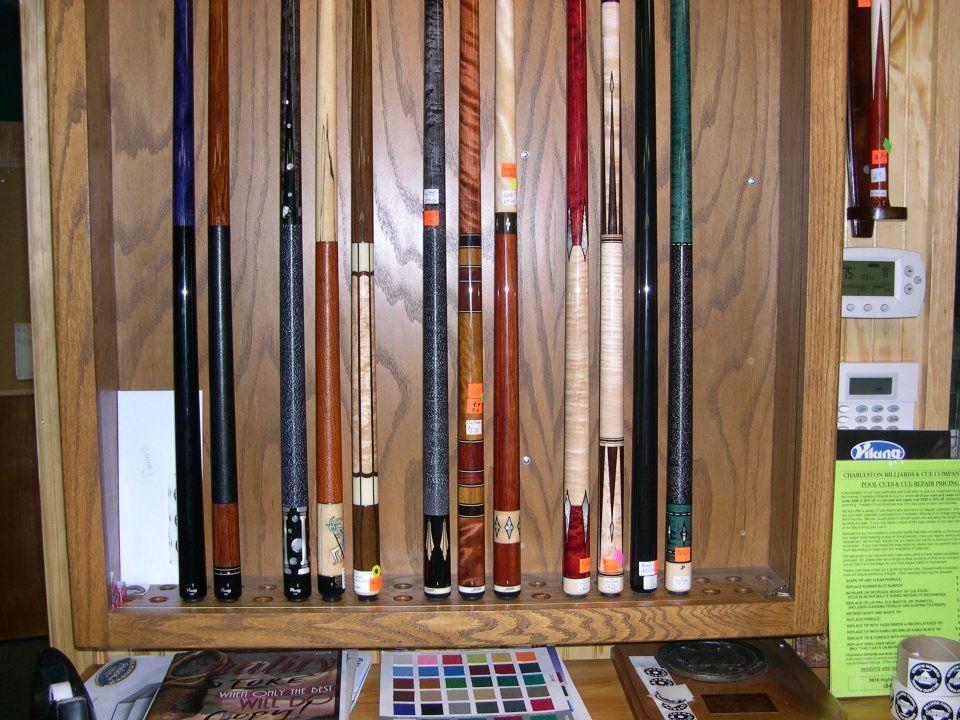 Pool Cues - Charleston Billiards and Cue Company