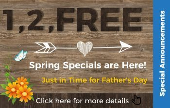 1, 2, FREE Specials